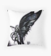 bog fairy by Jesse Lindsay 2007 Throw Pillow