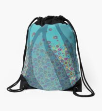 sweet flowers Drawstring Bag