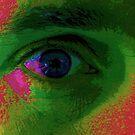 Green eye (experimental) by Jayson Gaskell
