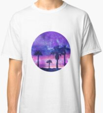 Mystic Tropical Beach Scenery Classic T-Shirt