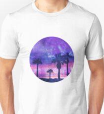 Mystic Tropical Beach Scenery Unisex T-Shirt