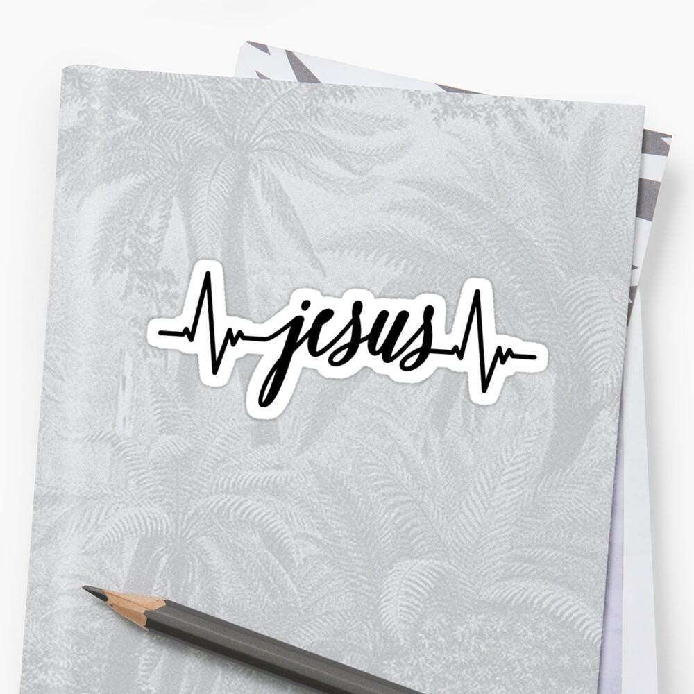 Jesus Heartbeat by Allison Kucharczyk