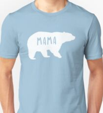 Cute Matching Mama Bear T-Shirt Unisex T-Shirt