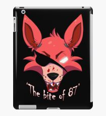 """The Bite Of 87"" iPad Case/Skin"