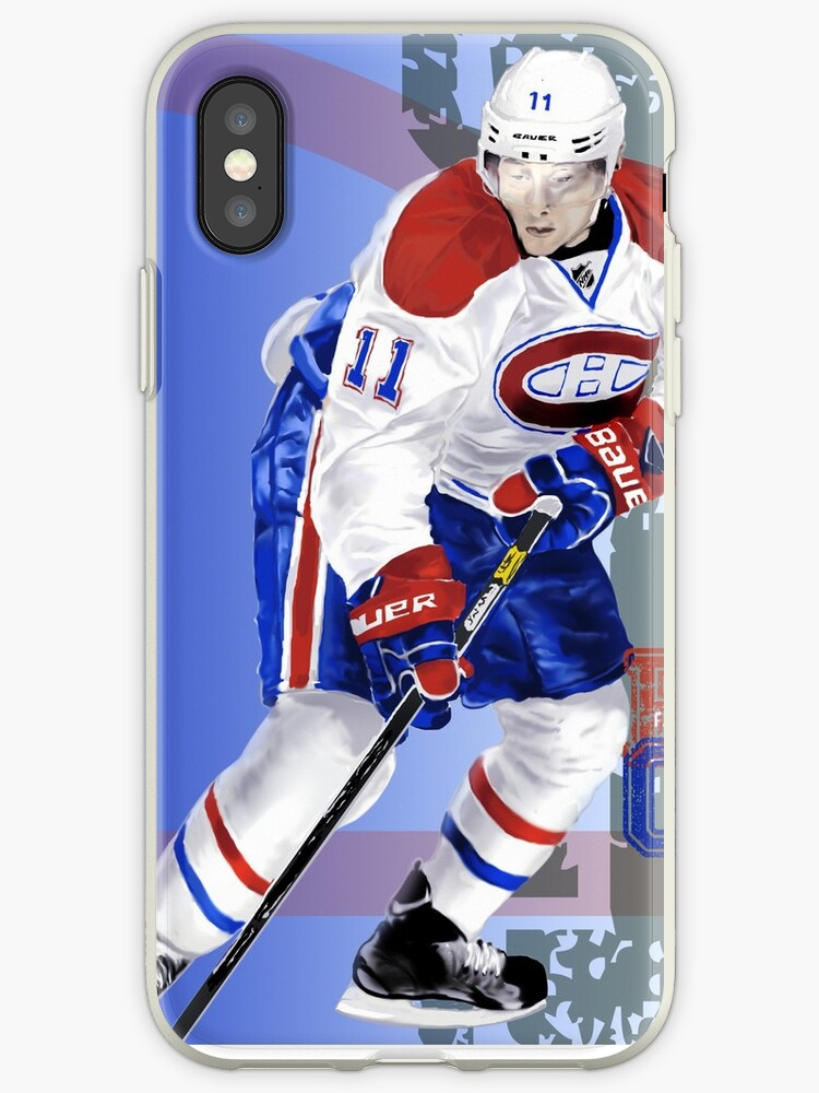 quality design 3e806 e3645 'A very talented hockey player from Montreal' iPhone Case by Wil Beaudin