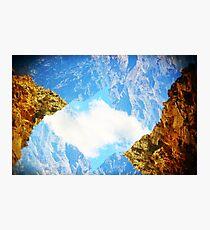 Sky Rocks! Photographic Print