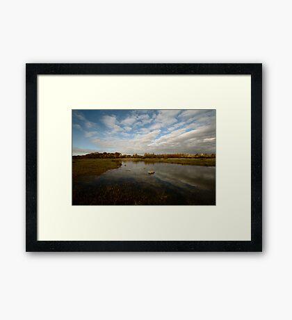 Grenham Common in Autumn Framed Print