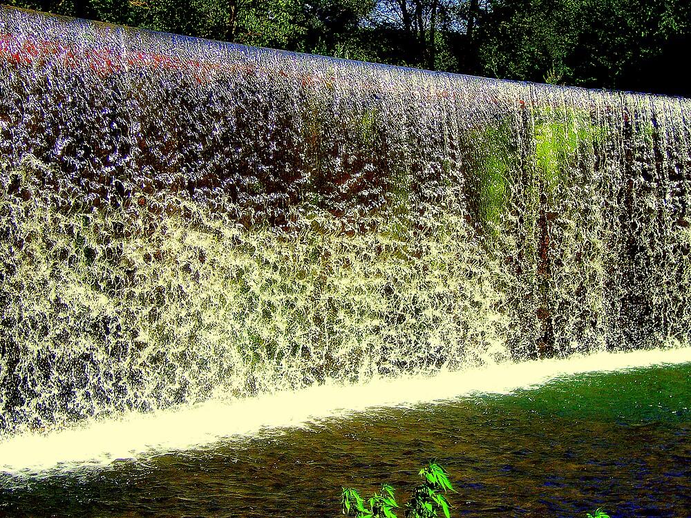 Waterfall by honey
