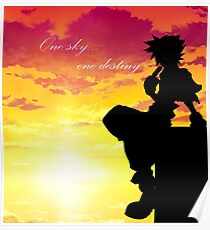 Kingdom Hearts: Sora en Villa Crepúsculo Poster