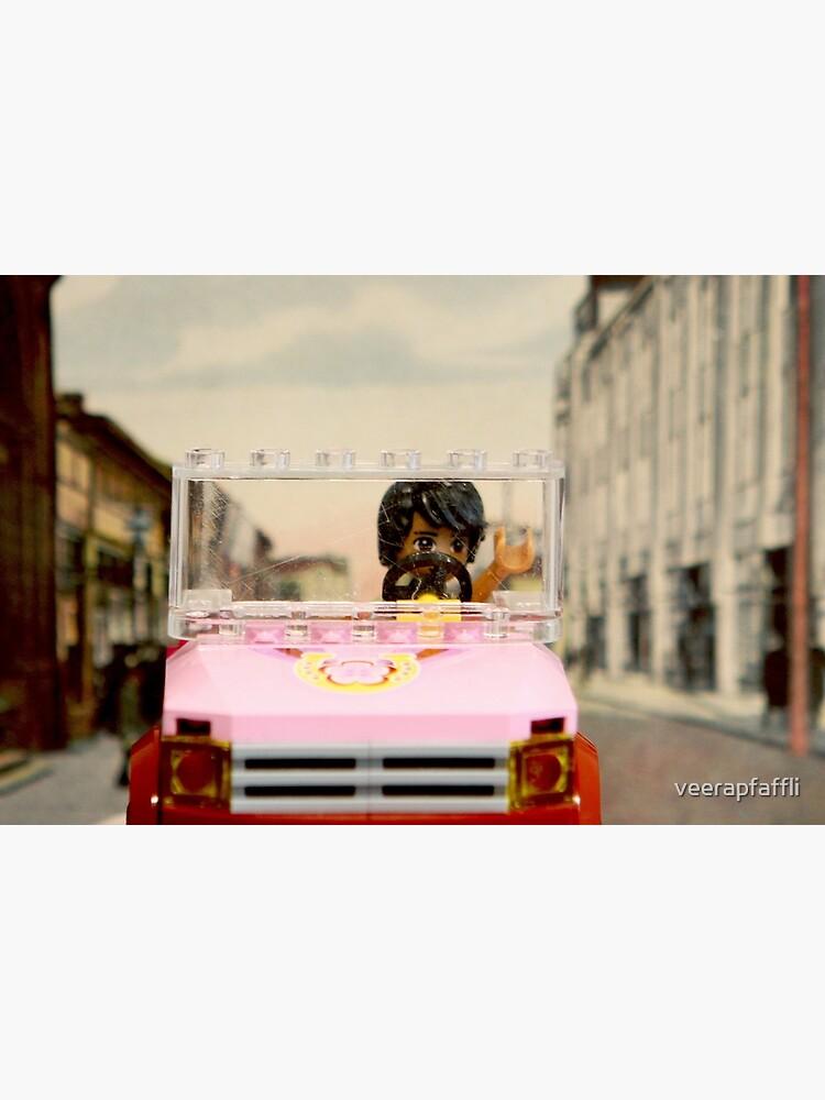 Legoman arrives to town streetscape by veerapfaffli