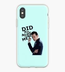 Did you miss me? iPhone Case