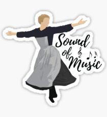 Sound of Music Sticker