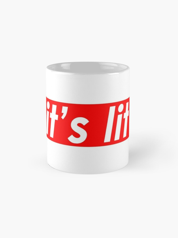 Alternate view of Lit Supreme Logo Design Mug