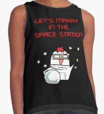 SEVEN, marry me in the space Station Mystic Messenger  Contrast Tank