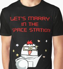 SEVEN, marry me in the space Station Mystic Messenger  Graphic T-Shirt