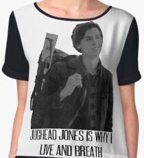 Jughead Jones is why i live and breath Chiffon Top