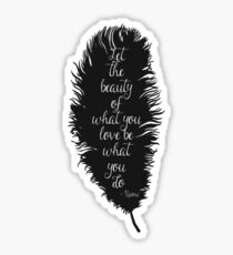 Let the Beauty Rumi  Sticker
