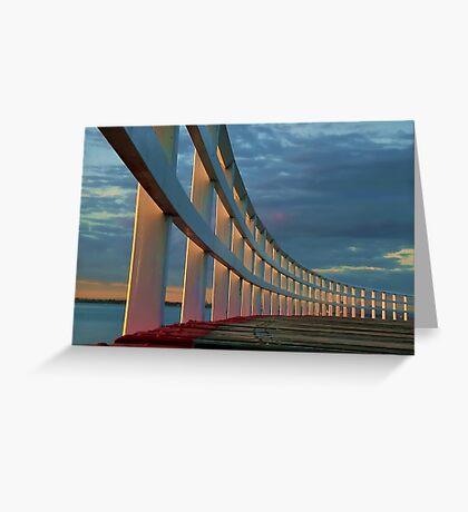 """The Promenade"" Greeting Card"