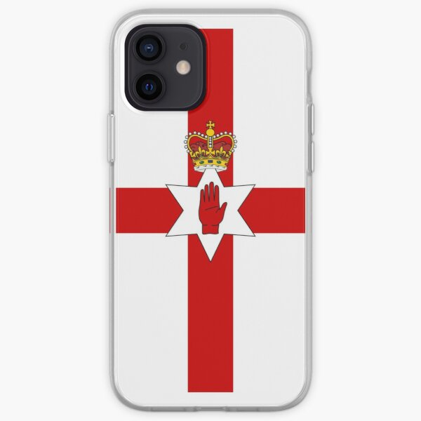 Ulster Banner Phone Case iPhone Soft Case