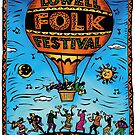 Lowell Folk Festival Poster by Sue Todd