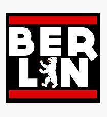 Berlin Bear Photographic Print