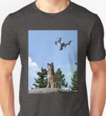 Wolf & Drone Unisex T-Shirt