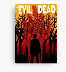 Evil Dead Canvas Print