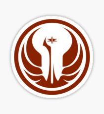 Small Jedi Order logo Sticker