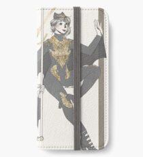 -gilded bats- iPhone Wallet/Case/Skin