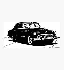 50s Retro Car Design  Photographic Print