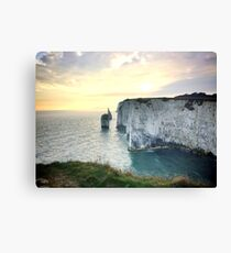 Old Harry Rocks Canvas Print
