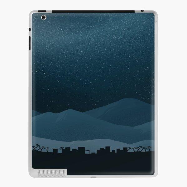 Midnight Mountain Village iPad Skin