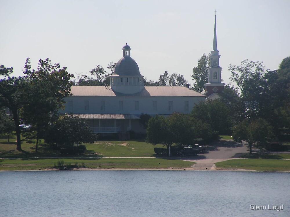The Historical Chataqua Building by Glenn Lloyd