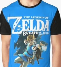 The Legend of Zelda: Breath of The Wild - Link Graphic T-Shirt