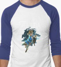 The Legend of Zelda: Breath of The Wild - Link Men's Baseball ¾ T-Shirt