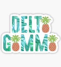 delta pineapple gamma leaf Sticker