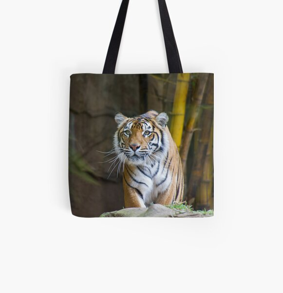Tiger All Over Print Tote Bag