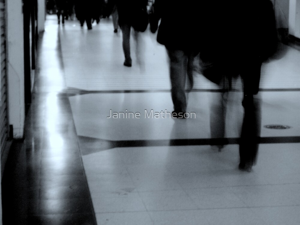 the daily commute by Janine Matheson