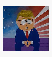 President Douche Photographic Print