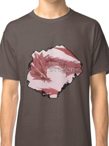 Friend of Dragons - Red Classic T-Shirt