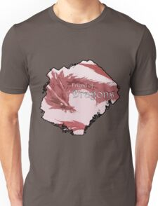 Friend of Dragons - Red Unisex T-Shirt