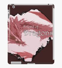 Friend of Dragons - Red iPad Case/Skin