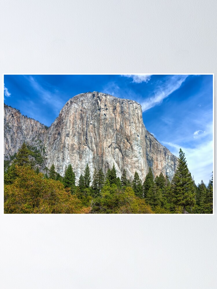 Yosemite National Park Poster El Capitan