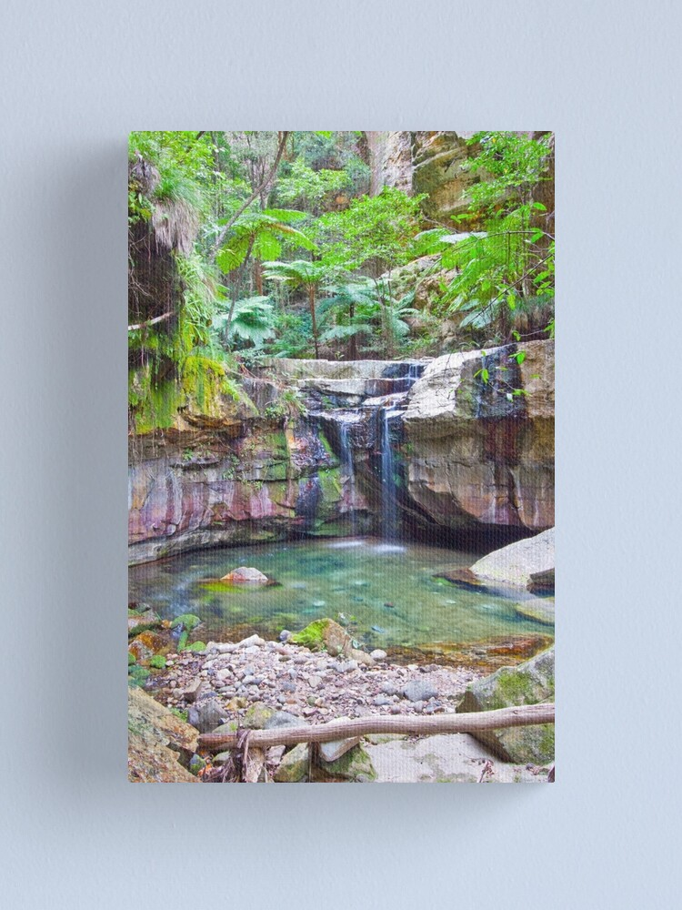 Alternate view of The Moss Gardens II Canvas Print
