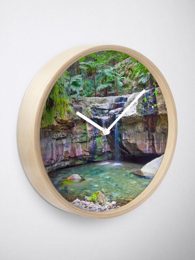 Alternate view of The Moss Gardens II Clock