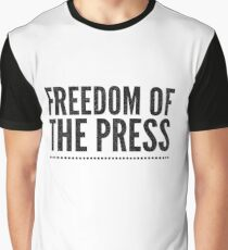 Freedom Of The Press Graphic T-Shirt
