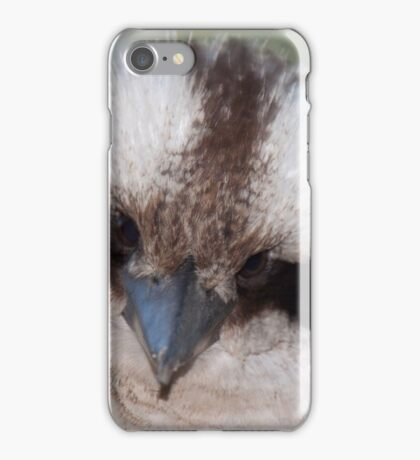 Who you look'in at? iPhone Case/Skin