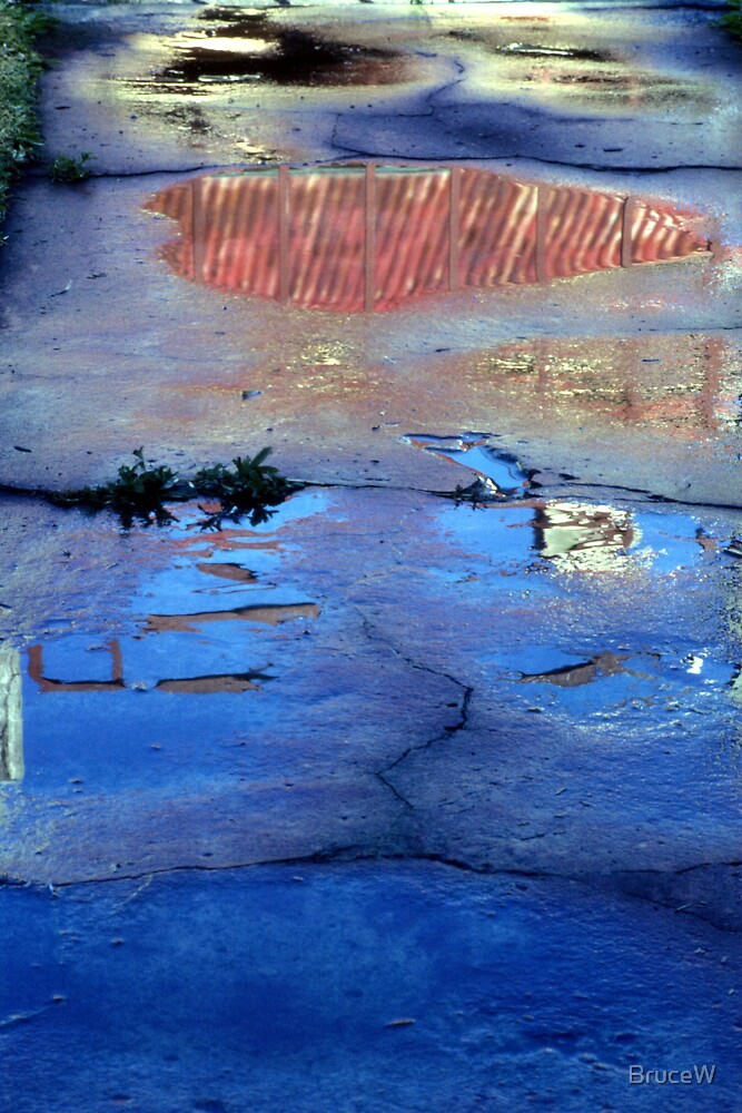 The Iron Roof; Reflection by BruceW