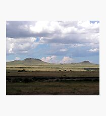 Clouds on the Plains Photographic Print