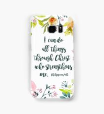 I can do all things Samsung Galaxy Case/Skin